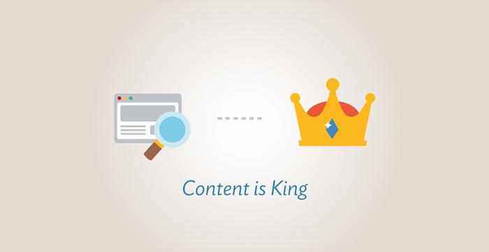 съдържанието е цар